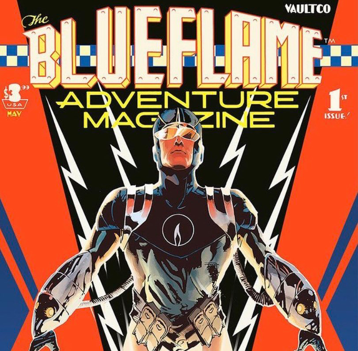 'The Blue Flame' #1 is dynamic, nimble, and thought-provoking