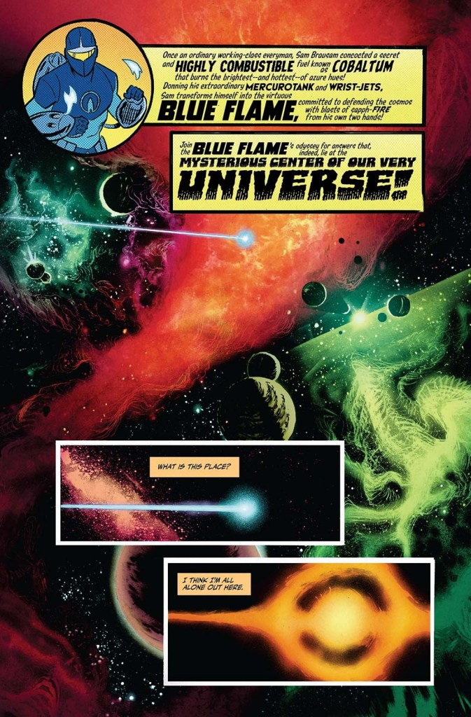 Vault Comics launching 'The Blue Flame' from Chris Cantwell and Adam Gorham