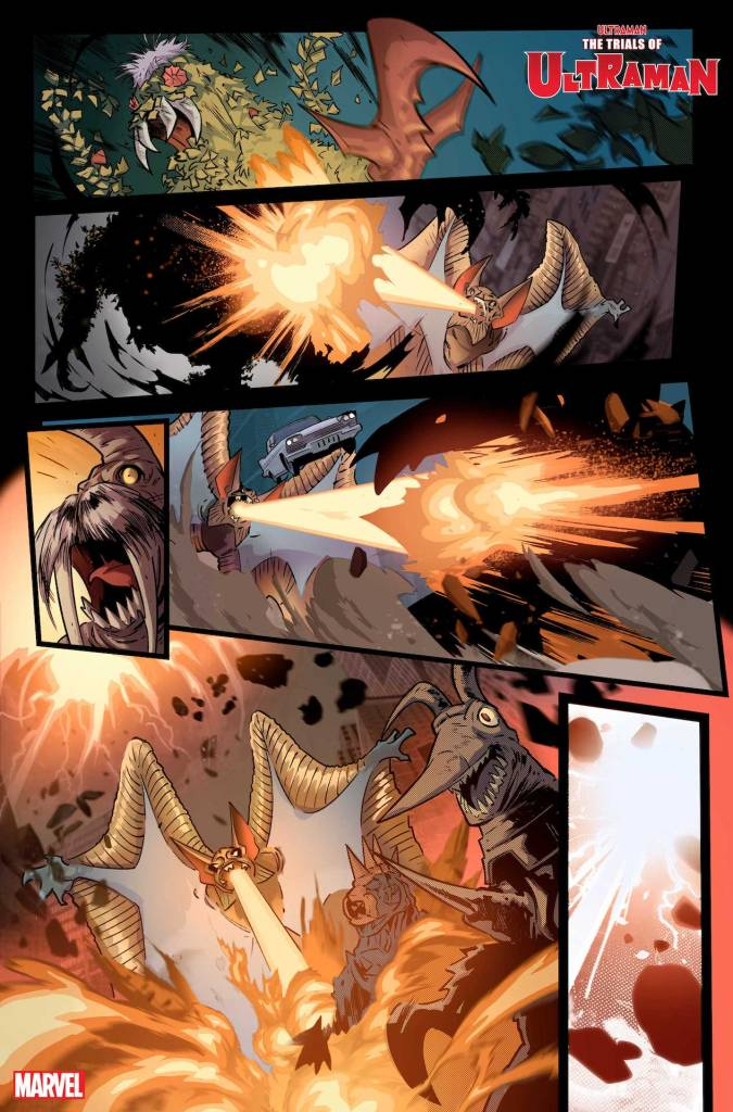 Marvel First Look: The Trials of Ultraman #1