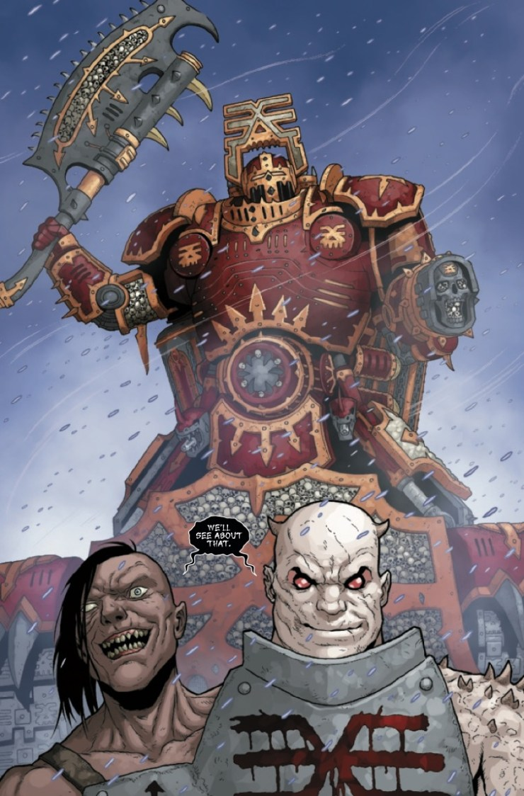 Marvel Preview: Warhammer 40,000: Marneus Calgar #5