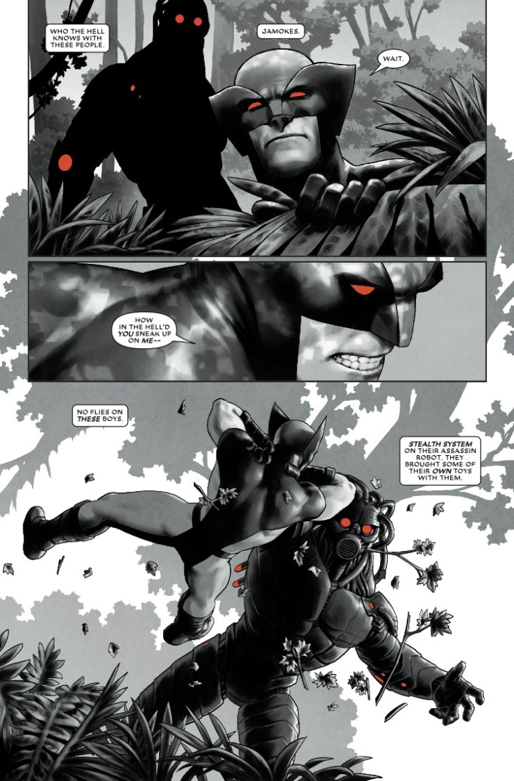 Marvel Preview: Wolverine: Black, White & Blood #3
