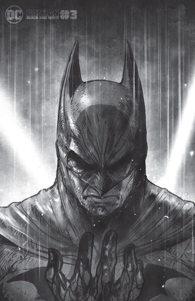 DC Preview: Batman Black & White #3