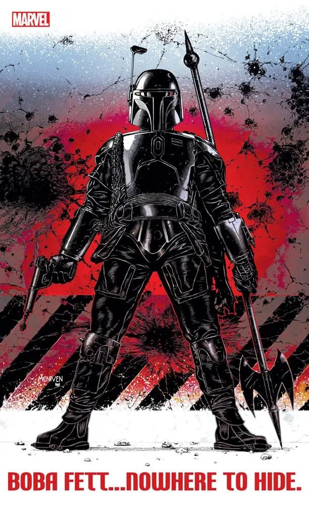 Marvel Comics teases new Boba Fett comics project
