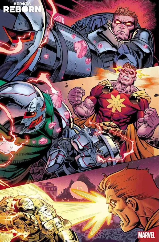 Marvel First Look: 'Heroes Reborn' #1