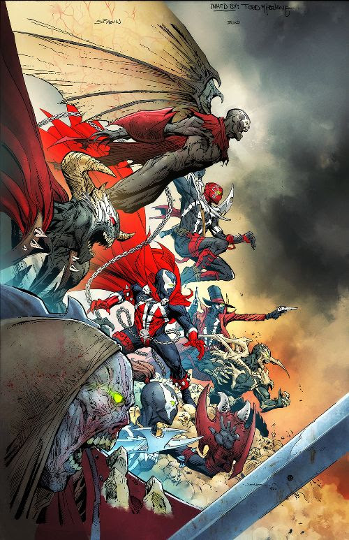 Todd McFarlane announces four new titles in new shared universe push