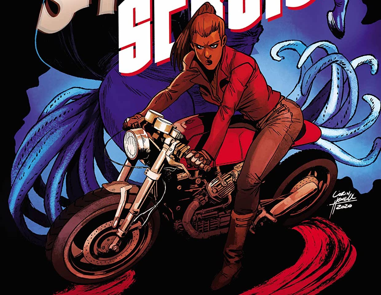 'Shadow Service' #6 races into a new arc