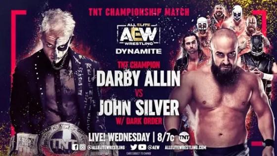 AEW Dynamite - John Silver vs. Darby Allin