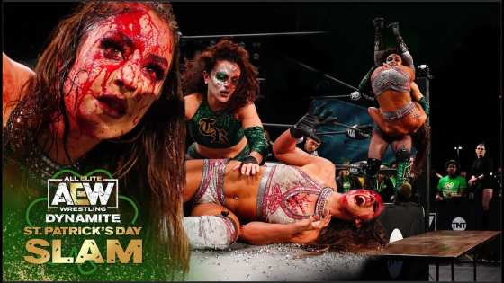 Britt Baker and Thunder Rosa went to war on AEW Dynamite