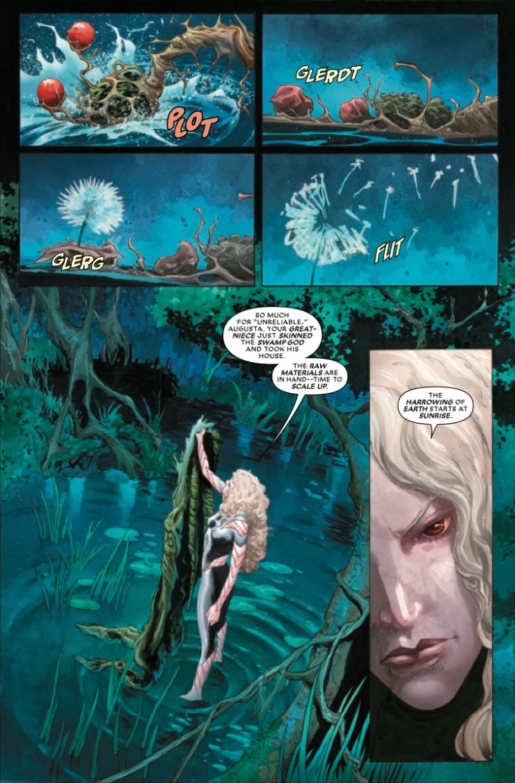 Marvel Preview: Avengers: Curse of the Man-Thing #1