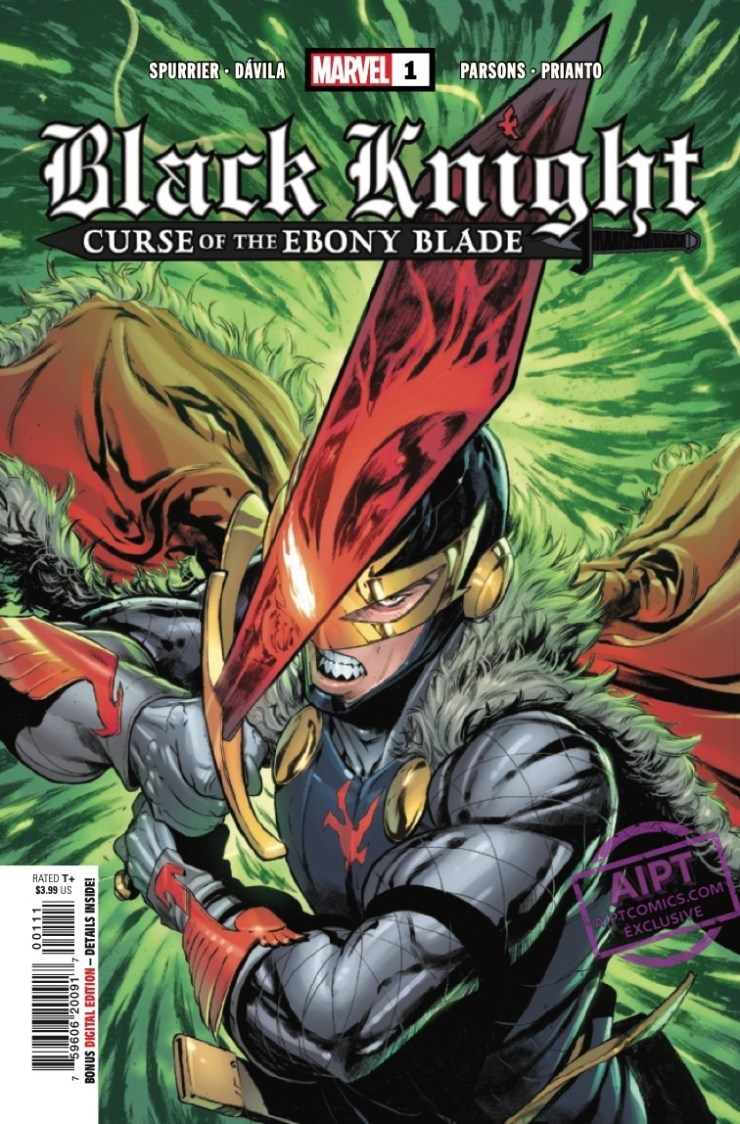 EXCLUSIVE Marvel Preview: Black Knight: Curse Of The Ebony Blade #1