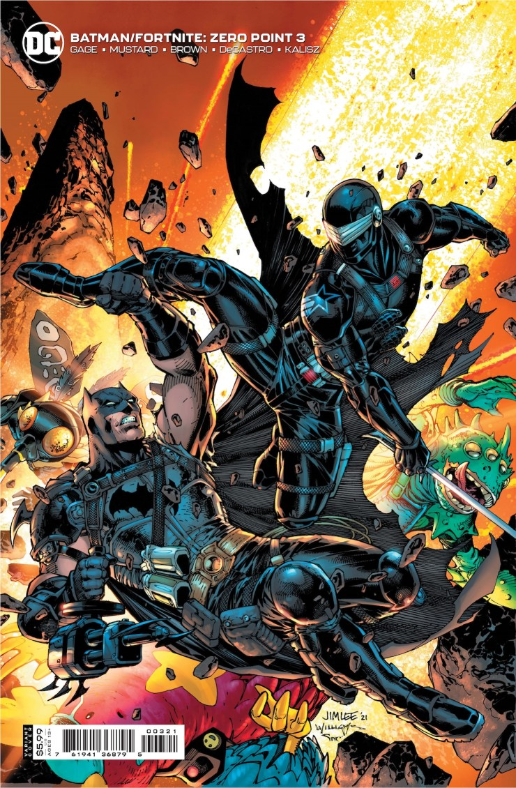 DC Comics reveals more 'Batman/Fortnite: Zero Point' covers