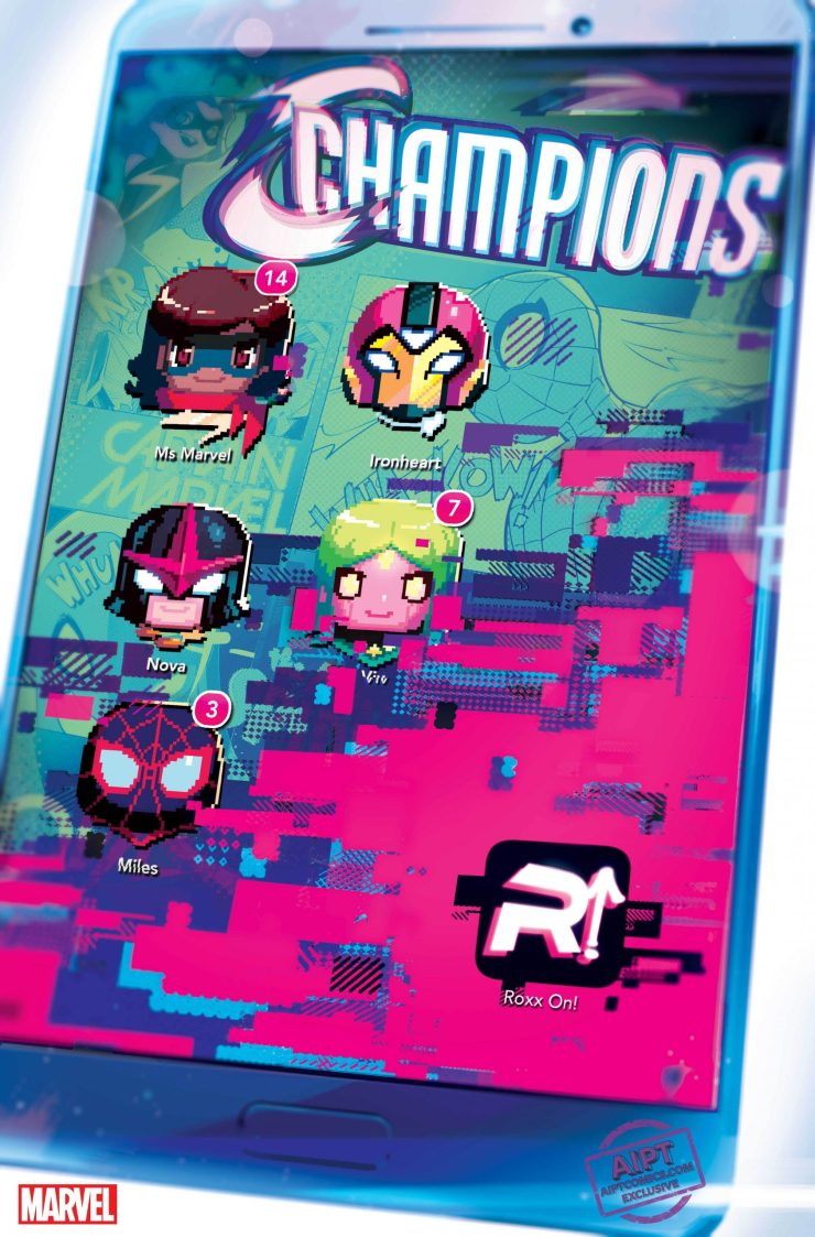 EXCLUSIVE First Look: Champions #8