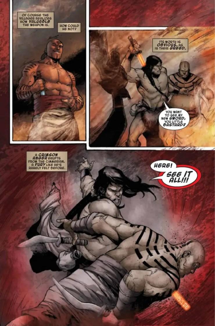 Conan the Barbarian Vol. 1: Into the Crucible