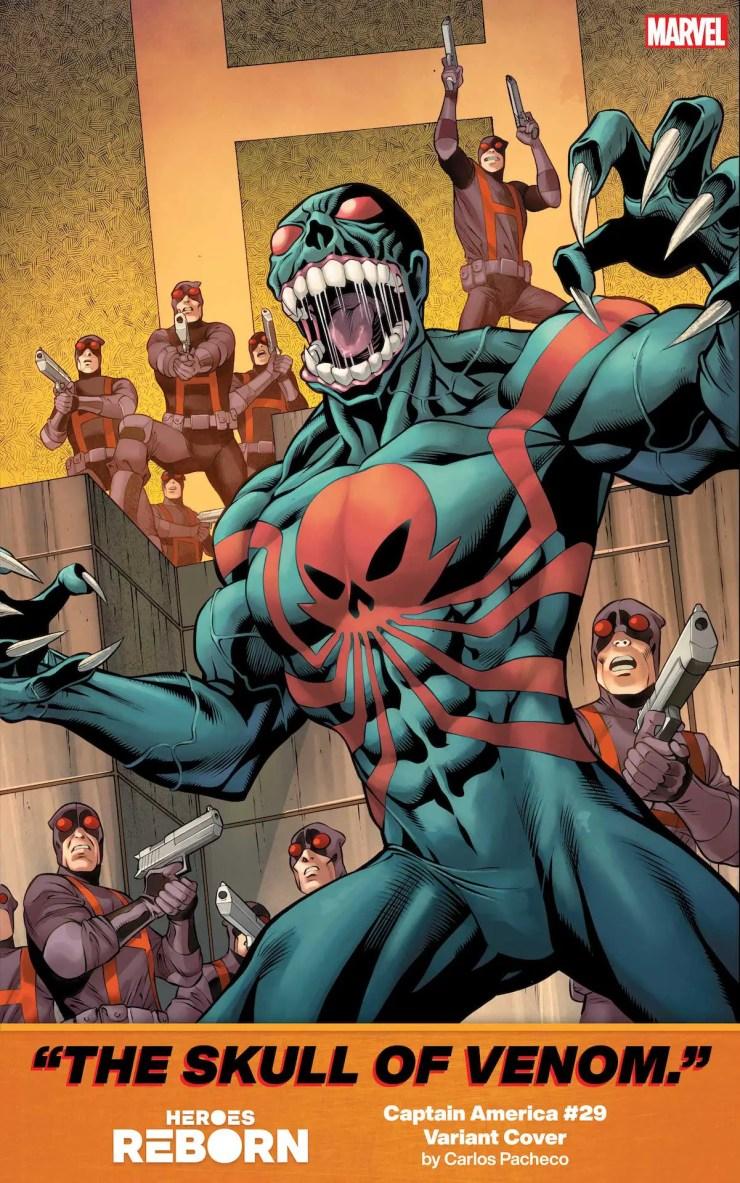 Marvel Comics reveals more 'Heroes Reborn' variants with Venom, Hulk, and more