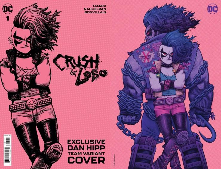 DC Comics announces 'Crush & Lobo' comic miniseries launching June 1