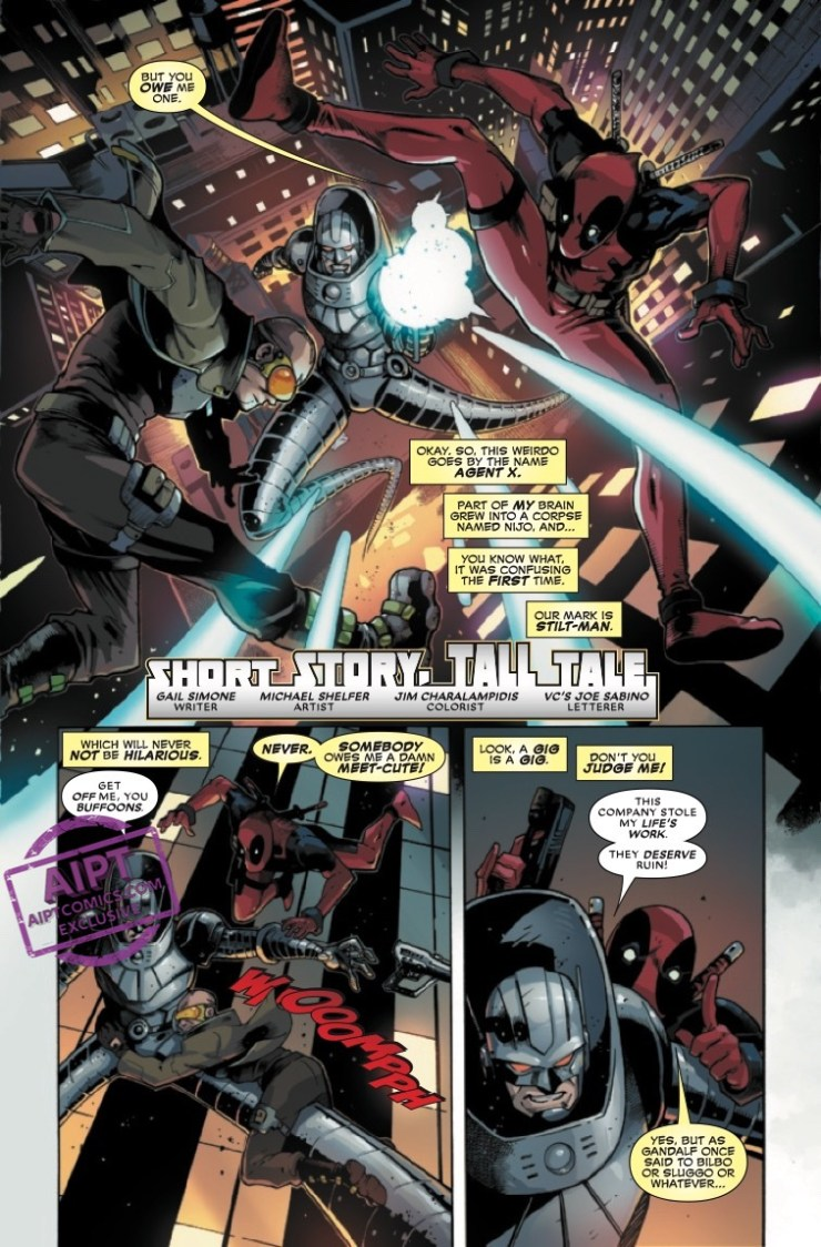 EXCLUSIVE Marvel Preview: Deadpool Nerdy 30 #1