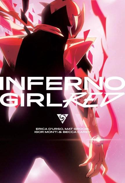Mat Groom talks new teenage tokusatsu OGN 'Inferno Girl Red'