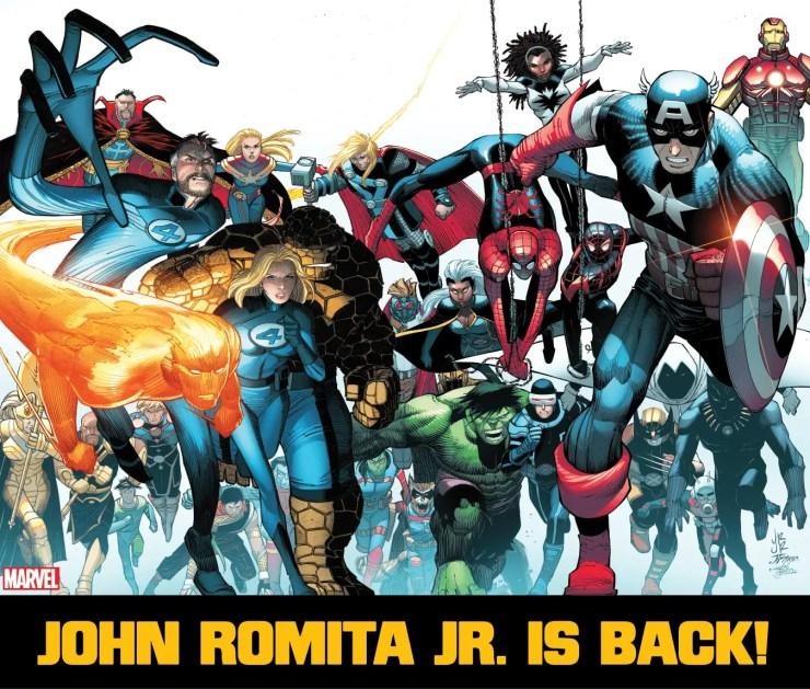 John Romita Jr. set to return to Marvel Comics in July