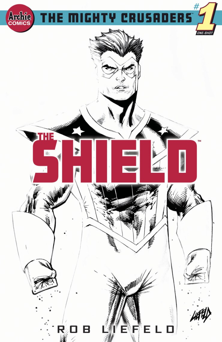 Archie to publish Rob Liefeld's 'The Mighty Crusaders: The Shield' #1 for June
