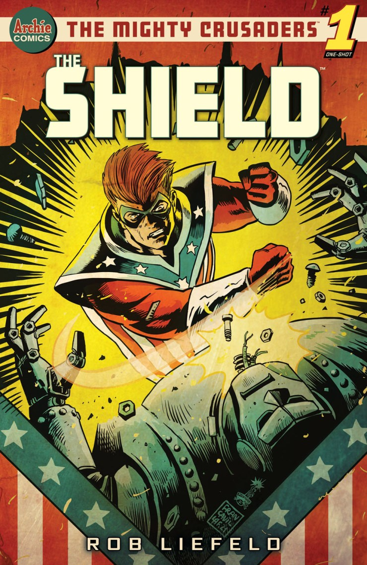 Archie to publish Rob Liefeld's 'The Mighty Crusaders: The Shield' #1