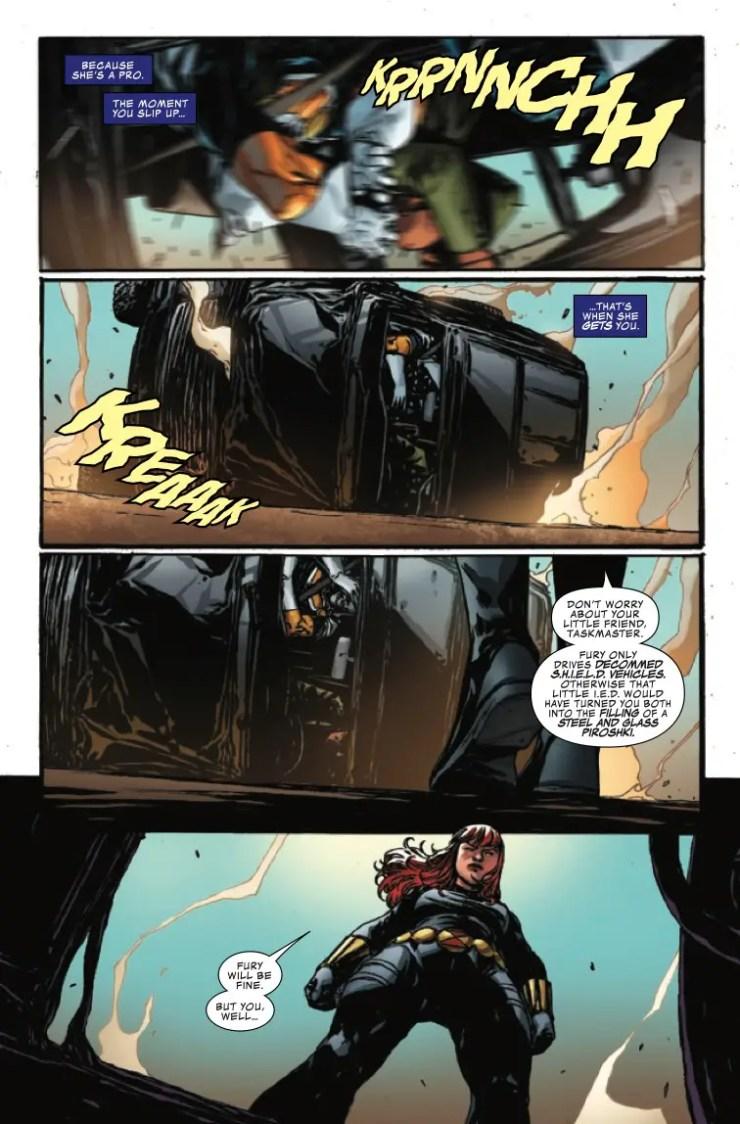 Marvel Preview: Taskmaster #5