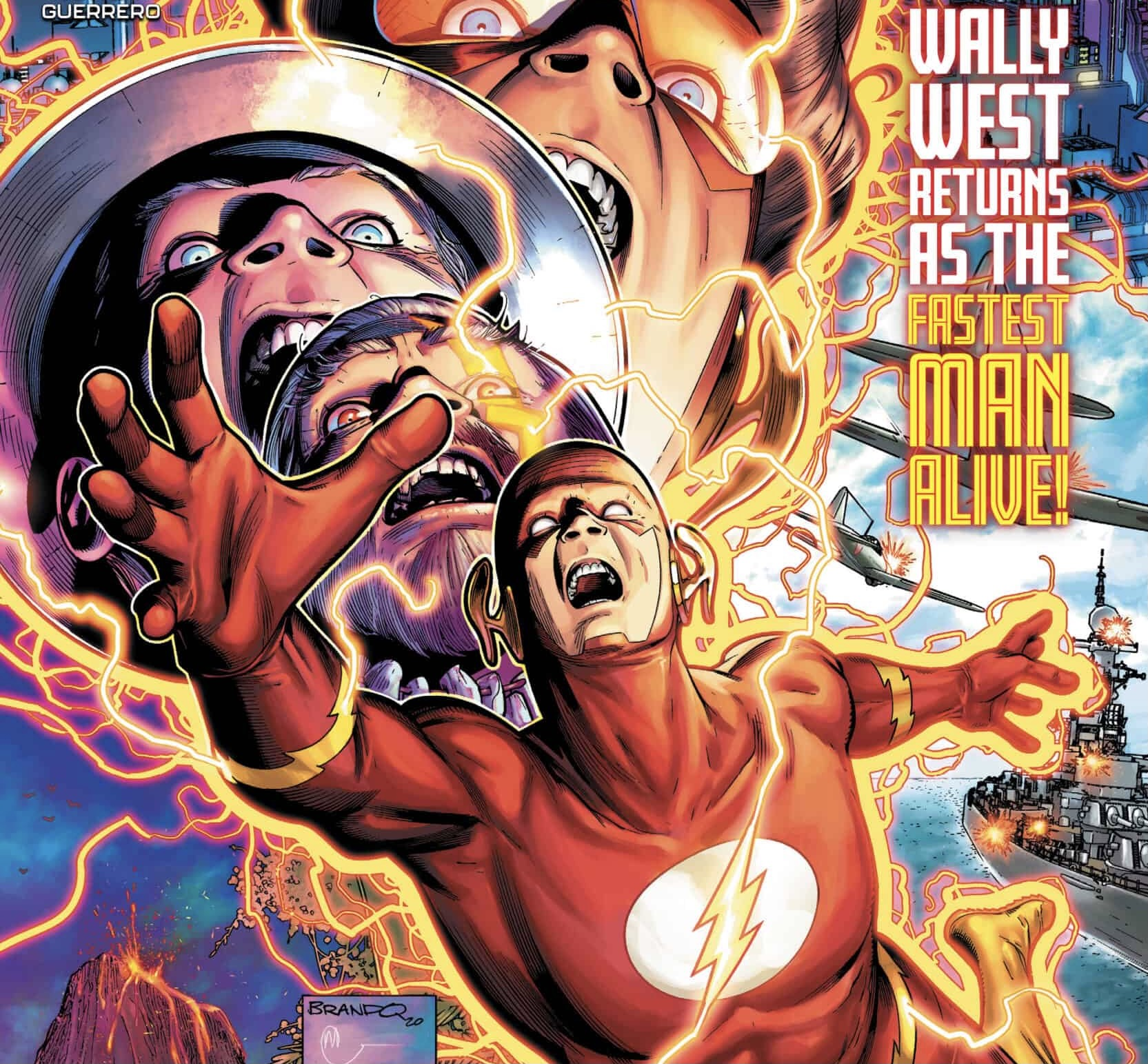 The Flash #768 cover by Brandon Peterson