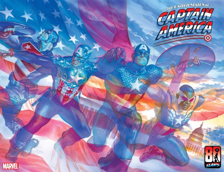 Marvel The United States of Captain America