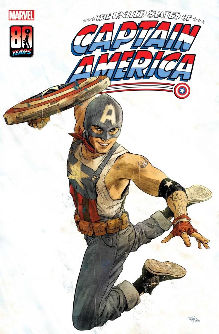 Marvel Comics reveals new Captain America of the Railways hero