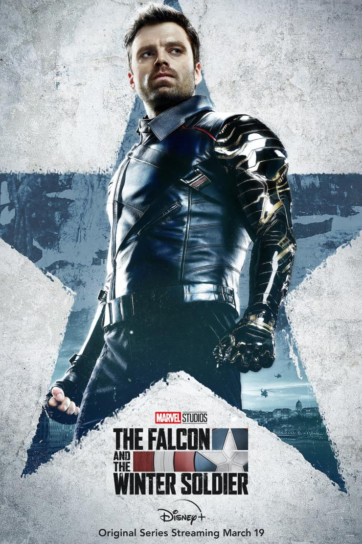 'The Falcon and the Winter Soldier' posters