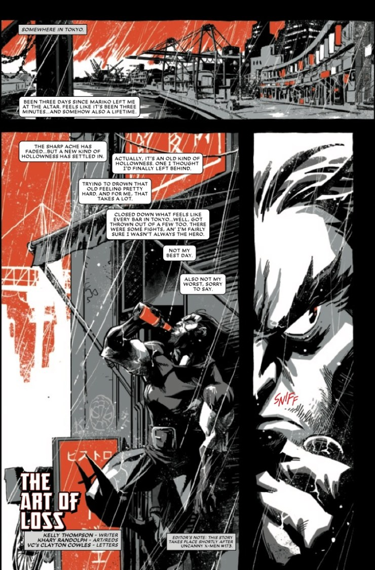 Wolverine: Black, White & Blood (2020-) #4 (of 4)