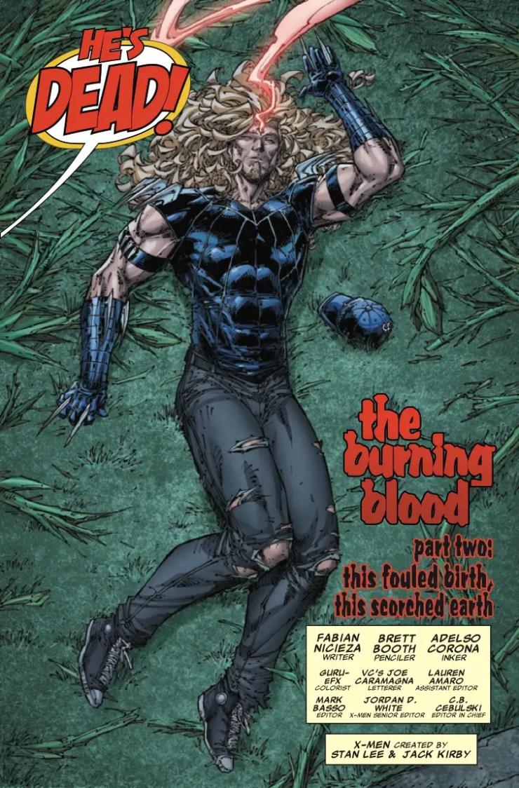 Marvel Preview: X-Men Legends #2