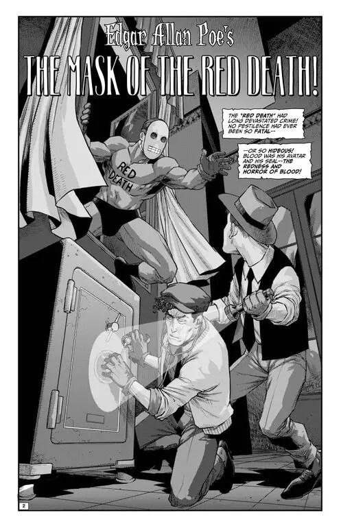 'Edgar Allan Poe's Snifter of Blood' #6 review