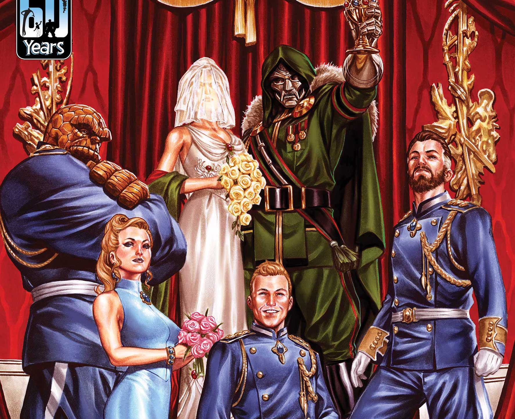 'Fantastic Four' #33 review: Doctor Doom's wedding takes the cake