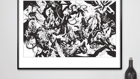 Dark Horse announce Hellboy Omnibus Collection box set