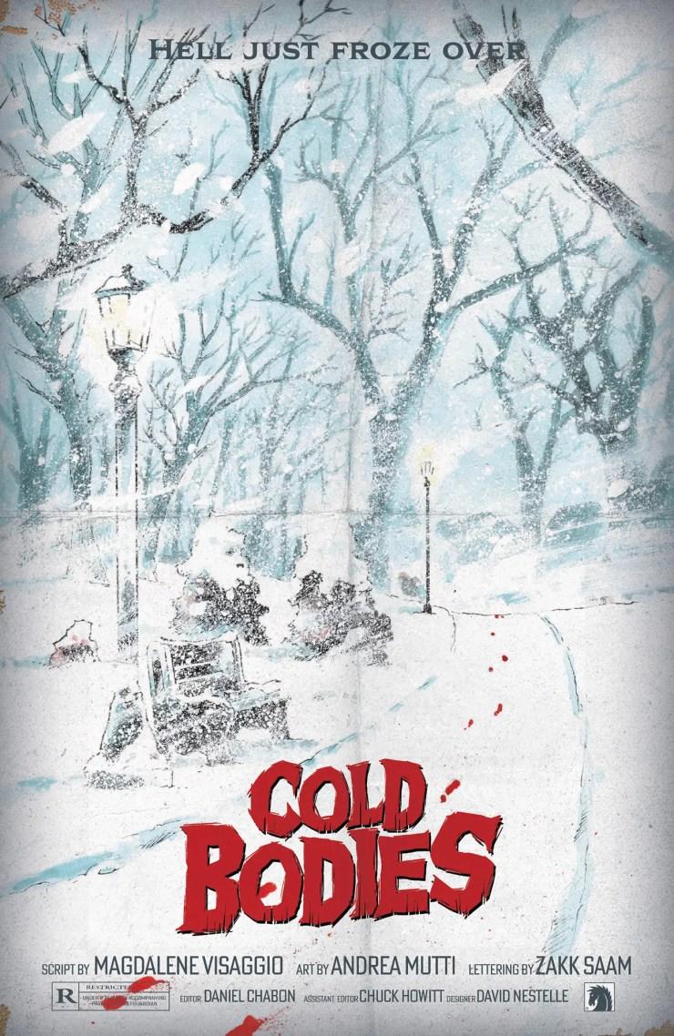 Dark Horse Comics announces 1980s meta-horror TPB 'Cold Bodies'