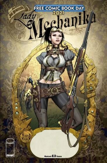Image Comics offering two FCBD 2021 specials Mechanika