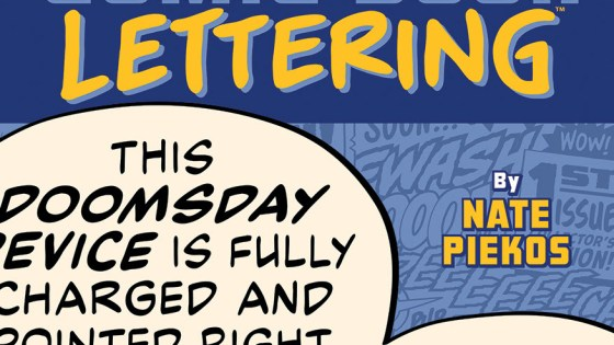 Image Comics sets October 20 for 'The Essential Guide to Comic Book Lettering'