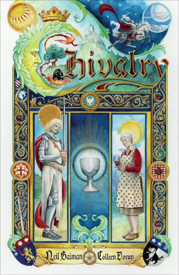 Dark Horse sets September 8th for Neil Gaiman's 'Chivalry'