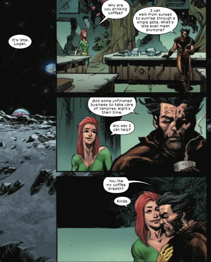 X-Force #18 love romance scott summers
