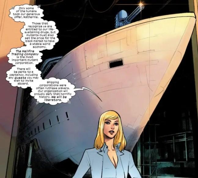 Livin' the minarchist dream: Rethinking X-Men's Krakoa as libertarian haven