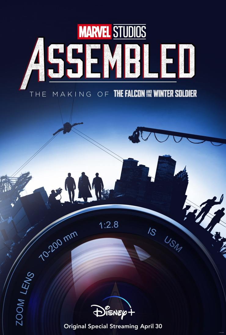 Disney+ releases docu special 'Assembled: The Making of 'The Falcon and The Winter Soldier'