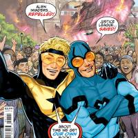 DC Comics launching 'Blue & Gold' #1 this July tackling superhero social media
