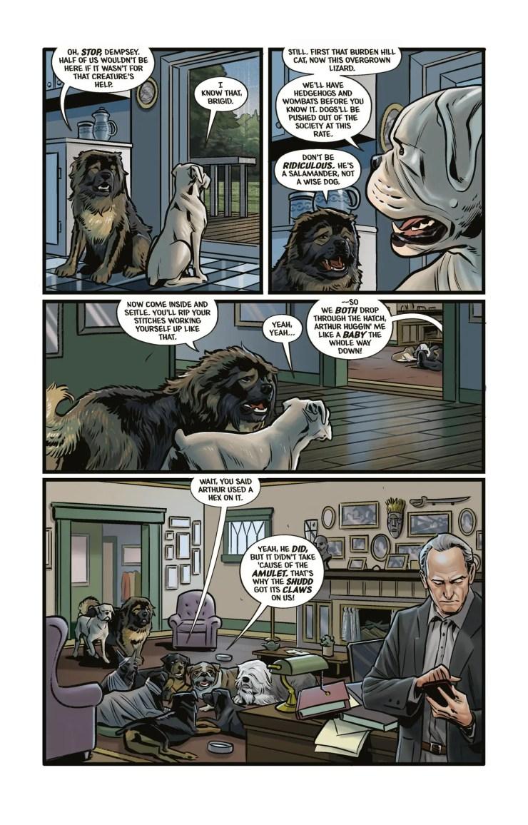 Evan Dorkin 'Beasts of Burden' Dark Horse Comics