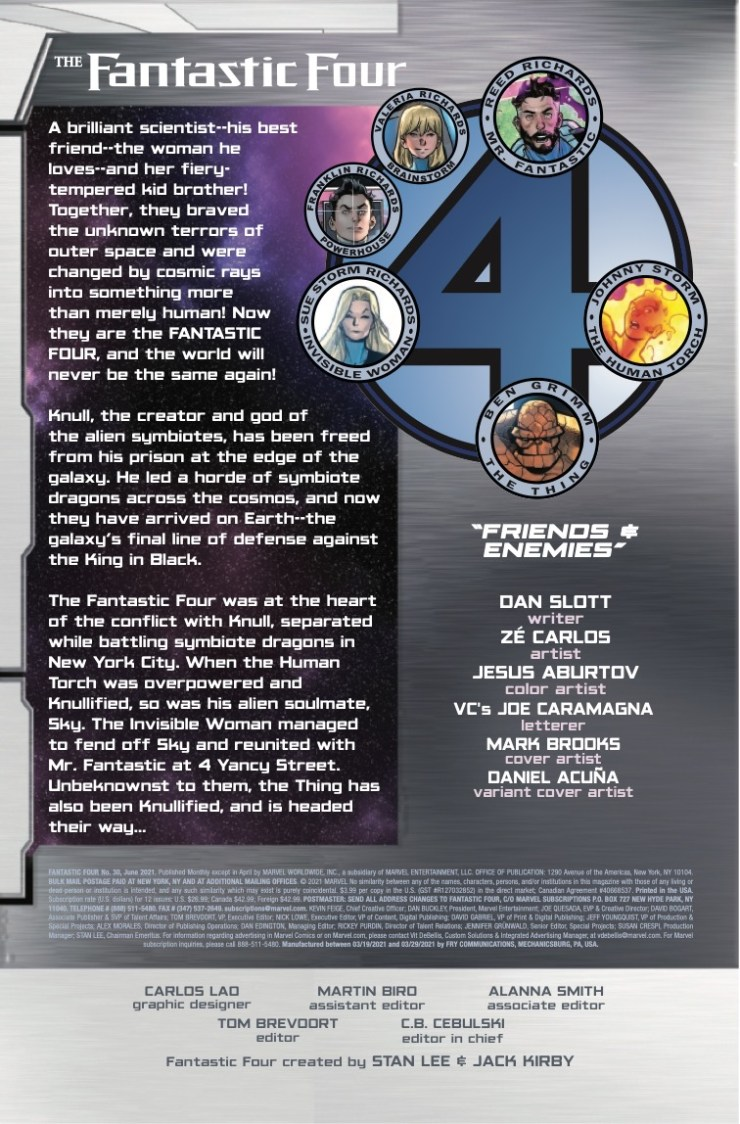 Marvel Preview: Fantastic Four #30