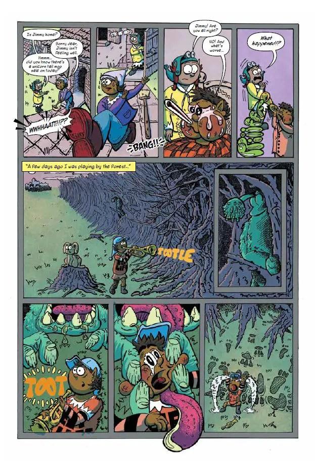 Jenny & the Eddies comic on vaccines