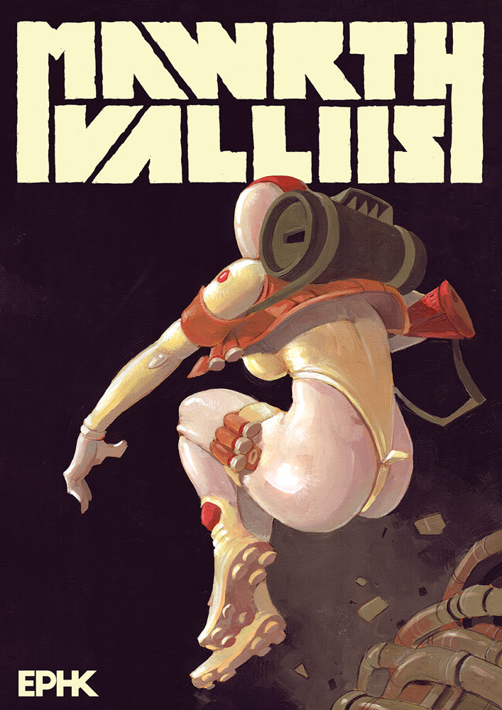 Image Comics launching sci-fi OGN 'MAWRTH VALLIIS' for July