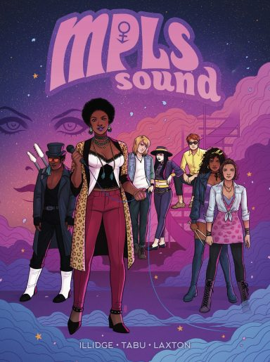 Prince becomes a comic book legend in 'MPLS Sound' OGN