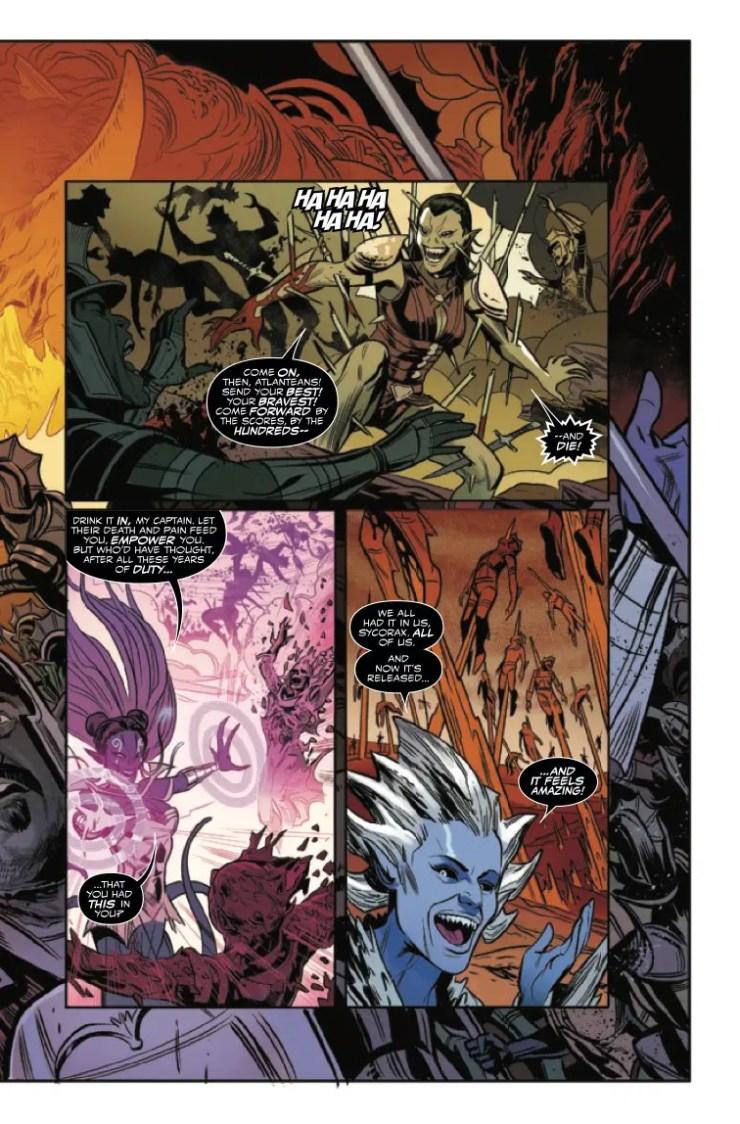 Marvel Preview: King in Black: Namor #5