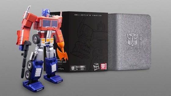 Transformers: Hasbro releases self-transforming Optimus Prime figure