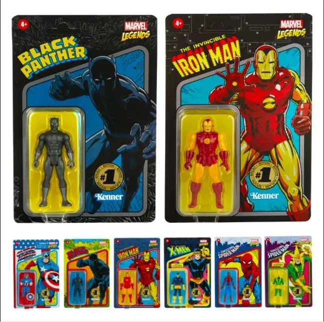 Marvel Legends Retro Box Sets
